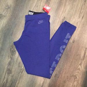 Nike Training Pants in Royal Blue **NWT**
